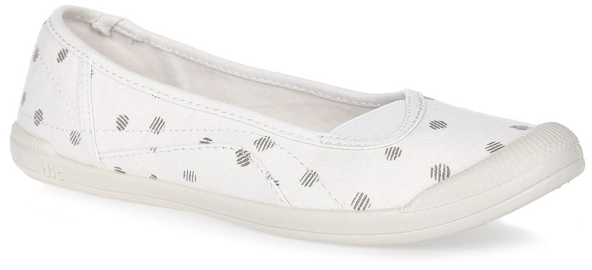 KEFIRS-5757Стильные балетки Kefirs от TBS - модель для ценителей современной качественной обуви. Модель выполнена из плотного высококачественного текстиля и декорирована оригинальным принтом, мысок дополнен резиной. Внутренняя поверхность и стелька из кожи обеспечат комфорт и уют вашим ногам. Подошва из прочного каучука гарантирует длительную носку и сцепление с любой поверхностью.