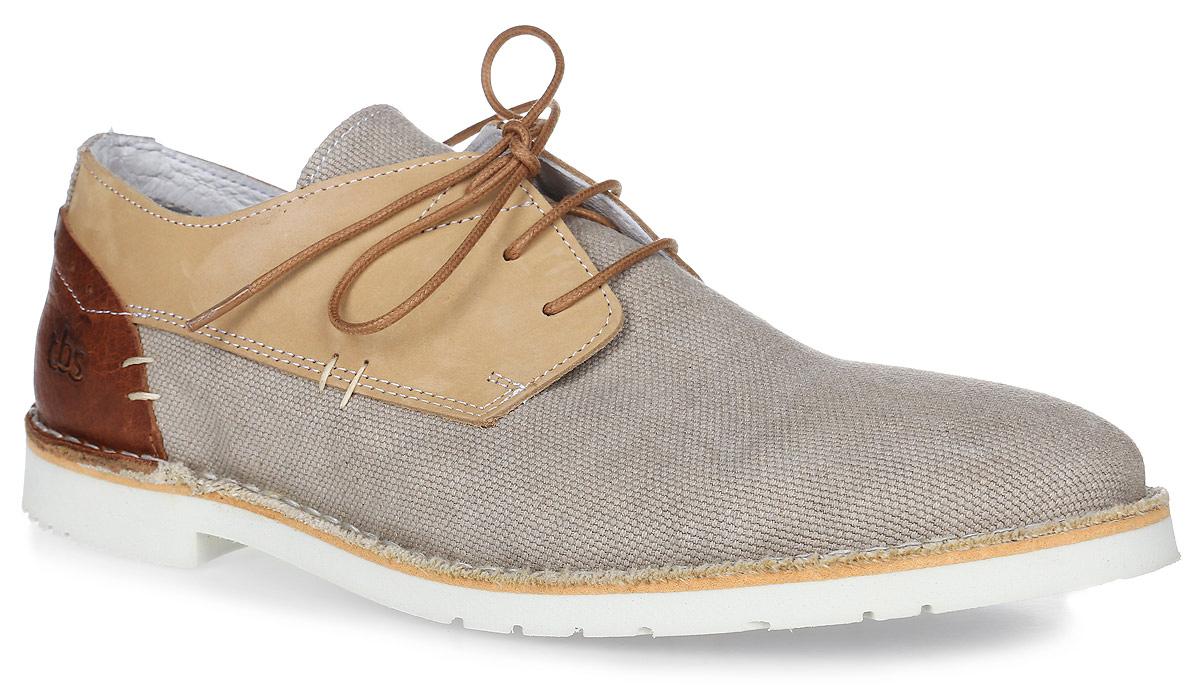 DAYVON-3847Трендовые мужские полуботинки Dayvon от TBS - модель для ценителей современной качественной обуви! Модель выполнена из плотного текстиля с берцами из натуральной кожи. Внутренняя поверхность и стелька из кожи обеспечат комфорт и уют вашим ногам. Прочная каучуковая подошва дополнена небольшим квадратным каблучком. Невероятно удобная модель со шнуровкой обеспечит комфорт и легкость носки. Полуботинки просто идеальны не только по стилю, но также и по качеству.