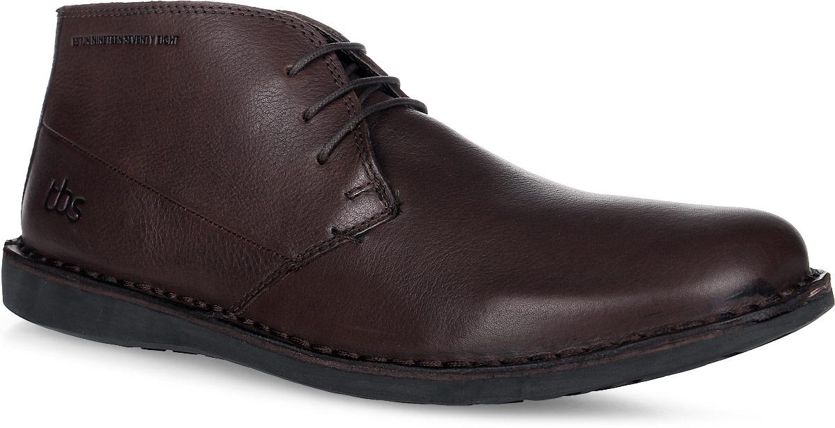 БотинкиKERLEA-E8004Трендовые мужские ботинки Kerlea от TBS - модель для ценителей современной качественной обуви! Модель выполнена из натуральной кожи. Внутренняя поверхность и стелька из кожи обеспечат комфорт и уют вашим ногам. Прочная резиновая подошва гарантирует длительную носку и сцепление с любой поверхностью. Классическая шнуровка надежно фиксирует обувь на ноге. Товары бренда смело можно отнести к продукции класса люкс, ведь они просто идеальны не только по стилю, но также и по качеству.