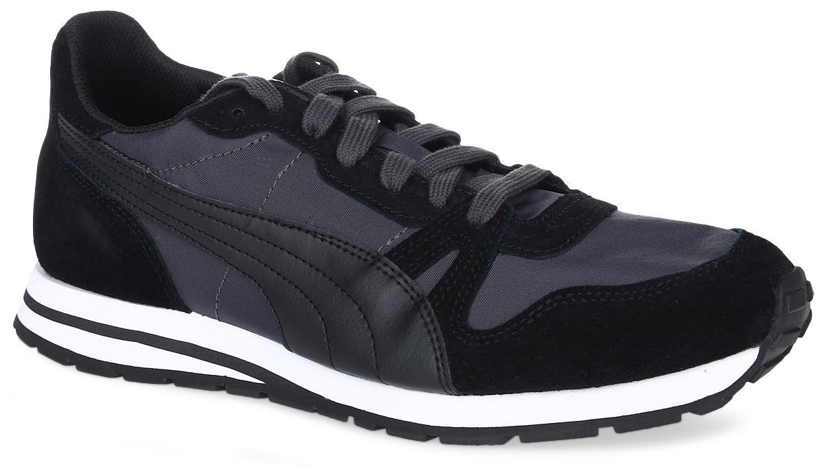 Кроссовки36140301В модели кроссовок Yarra Classic от Puma за основу взят классический дизайн Duplex и функциональные элементы, характерные для беговой обуви 1980-х. Верх изделия - это сочетание нейлона и замши, что сохраняет все признаки классической спортивной обуви, и при этом прекрасно подходит для повседневной носки. Классическая шнуровка надежно фиксирует изделие на ноге. Прочная подошва с рифлением гарантирует сцепление с любой поверхностью. Такие кроссовки отлично подчеркнут ваш спортивный образ. Прекрасный выбор для тех, кто ищет стильную обувь.