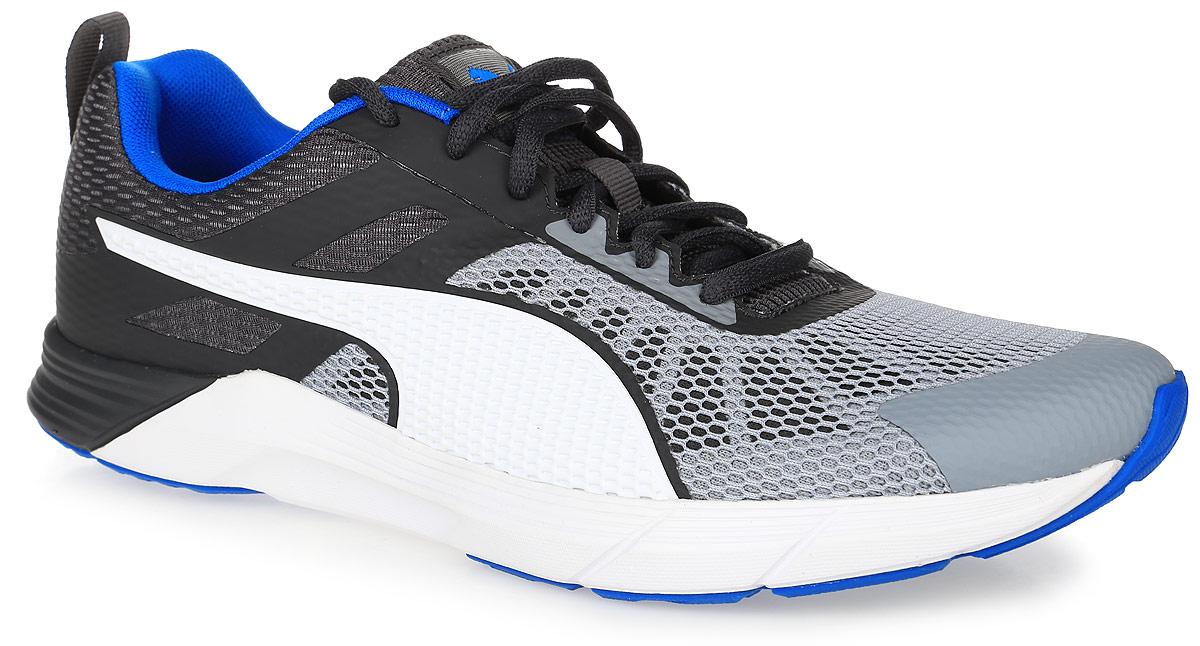 Кроссовки18904903Совершенно новая модель Propel от Puma со стильным современным силуэтом предназначена для легкого амортизированного бега. Верх выполнен из легкого дышащего текстиля. Двухслойный сетчатый материал позволяет воздуху свободно циркулировкать. Бесшовная конструкция верха с наплавленными деталями обеспечивает минимальный вес обуви и улучшает скоростные свойства. Классическая шнуровка надежно зафиксирует изделие на ноге. Прочная подошва с рифлением гарантирует сцепление с любой поверхностью. Сверхлегкой и эластичной беговой обуви придан модный дизайн. Язычок оформлен фирменным логотипом бренда. Отличный вариант для стильных и активных людей.