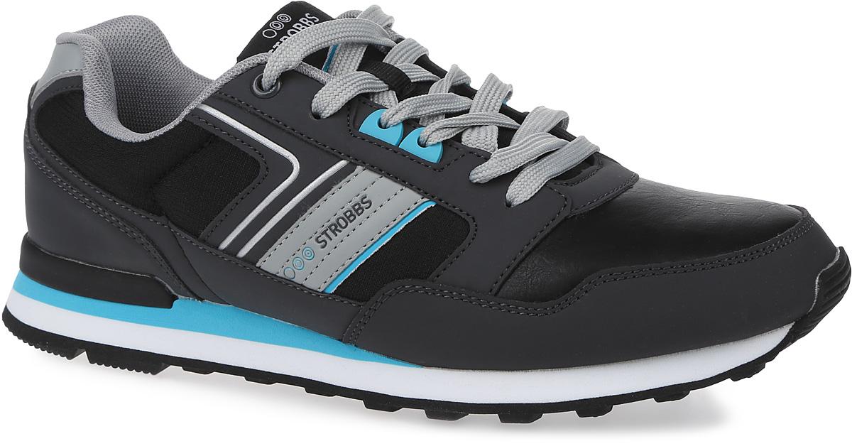C2381-12Стильные мужские кроссовки Strobbs отлично подойдут для активного отдыха и повседневной носки. Верх модели выполнен из текстиля и микрофибры. Удобная шнуровка надежно фиксирует модель на стопе. Подошва обеспечивает легкость и естественную свободу движений. Мягкие и удобные, кроссовки превосходно подчеркнут ваш спортивный образ и подарят комфорт.