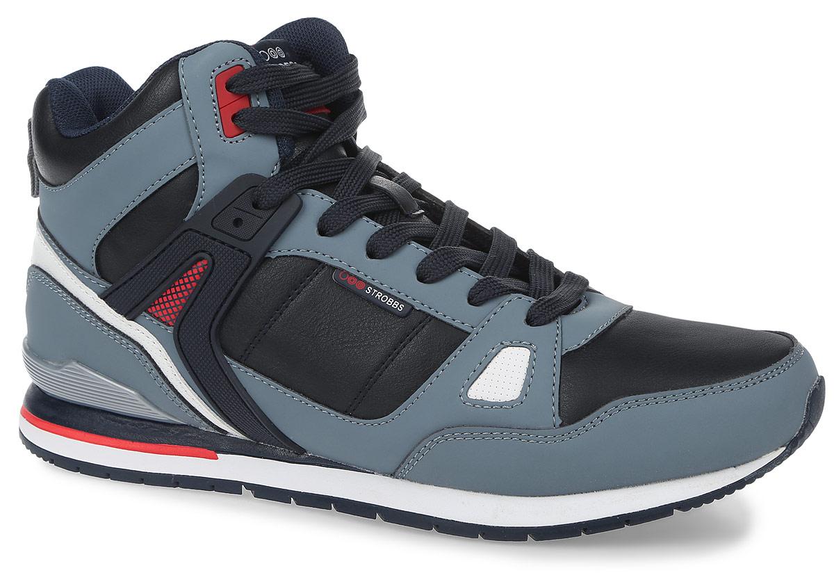 КроссовкиC2378-2Стильные мужские кроссовки Strobbs отлично подойдут для активного отдыха и повседневной носки. Верх модели выполнен из микрофибры и искусственной кожи. Удобная шнуровка надежно фиксирует модель на стопе. Подошва обеспечивает легкость и естественную свободу движений. Мягкие и удобные, кроссовки превосходно подчеркнут ваш спортивный образ и подарят комфорт.