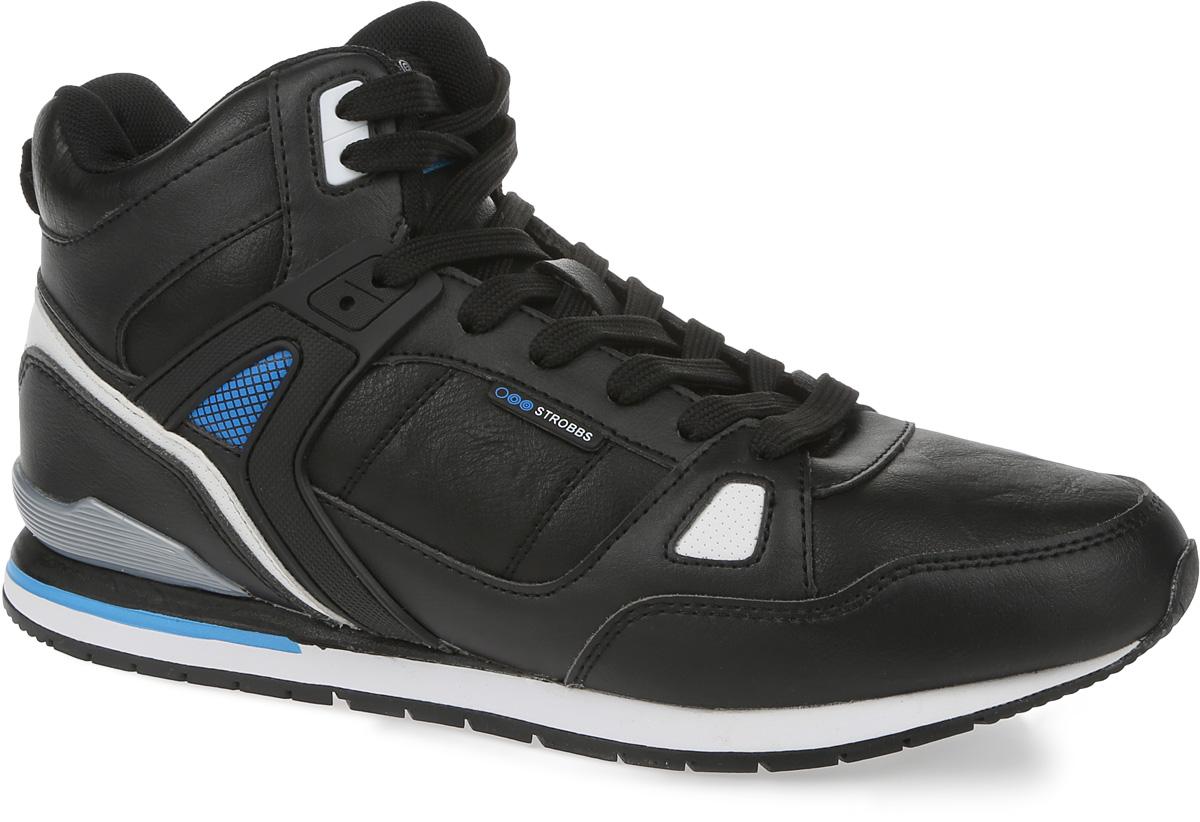 C2378-2Стильные мужские кроссовки Strobbs отлично подойдут для активного отдыха и повседневной носки. Верх модели выполнен из микрофибры и искусственной кожи. Удобная шнуровка надежно фиксирует модель на стопе. Подошва обеспечивает легкость и естественную свободу движений. Мягкие и удобные, кроссовки превосходно подчеркнут ваш спортивный образ и подарят комфорт.