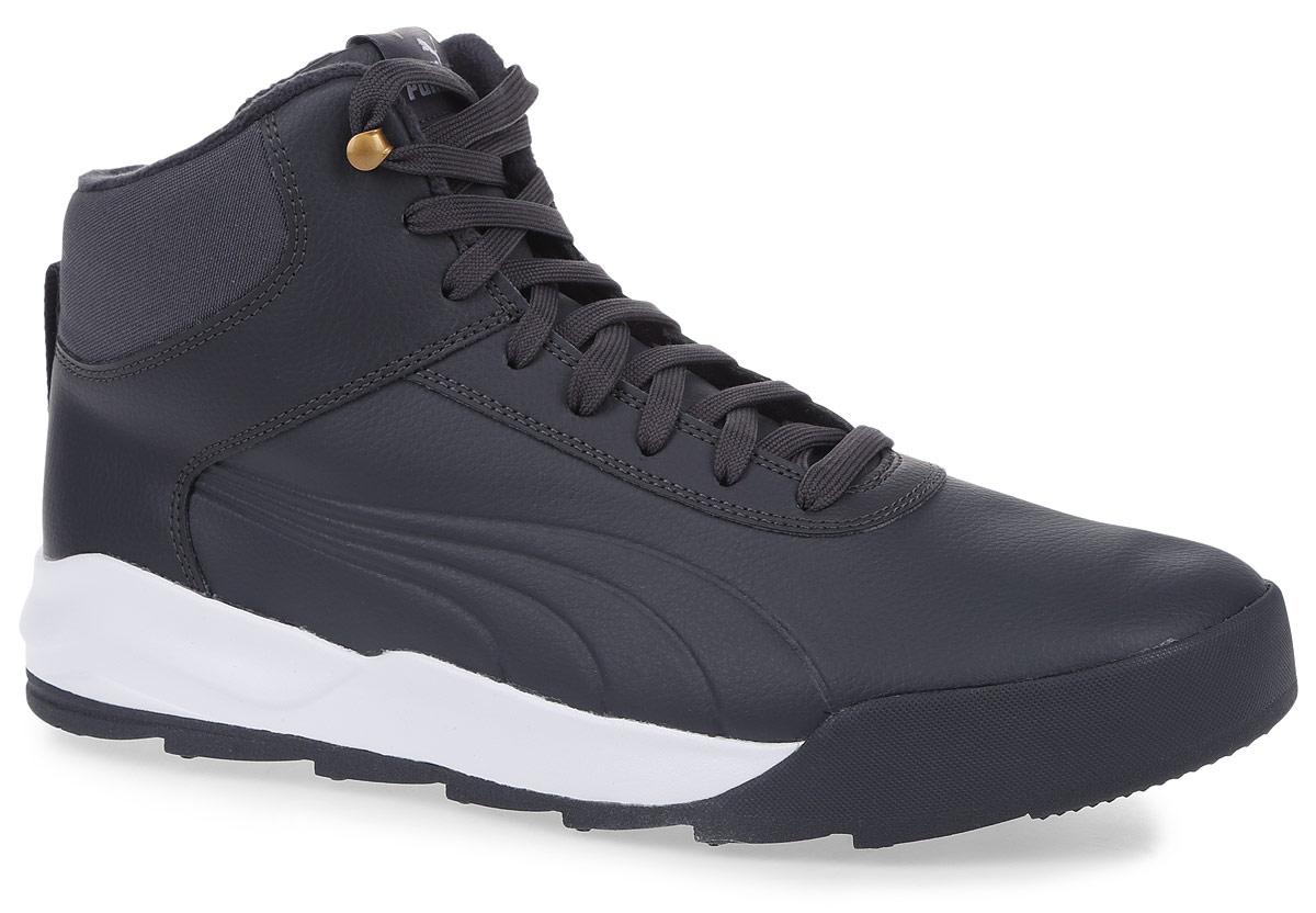 36206501Новая модель Desierto Sneaker - это комфорт мягких кроссовок в сочетании с прочностью и надежностью зимних ботинок. Она выполнена из натуральной кожи и снабжена упругой и эластичной промежуточной подошвой из вспененного этиленвинилацетата. Мощная ребристая внешняя подошва обеспечивает отличное сцепление с поверхностью. Среди других зимних элементов следует отметить обтачку голенища плотной тканью, стильную систему шнуровки, характерную для туристских ботинок, а также мягкую, теплую и уютную подкладку. Ботинки оформлены эмблемой Puma Formstrip с обеих сторон, а также фирменным логотипом Puma - на язычке. Desierto Sneaker - лучший выбор для тех, кому нужна функциональная и долговечная обувь на зимний период, которая выглядела бы стильно и современно!
