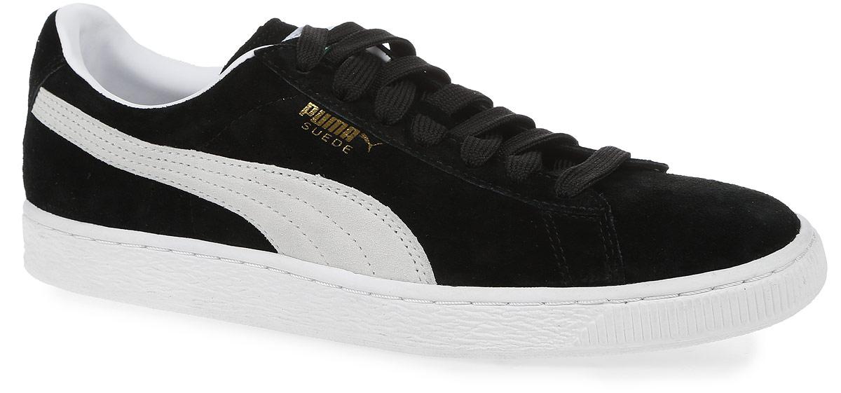 Кеды35263475Мужские кеды Puma Suede Classic+ - самая легендарная и популярная модель компании Puma. Предлагающие защиту стопы и хорошую гибкость, кеды прекрасно подходят для долгих прогулок или для катания на скейтборде. Они надежно фиксируют ногу, поэтому ничто не будет отвлекать вас. Модель оформлена логотипом бренда Puma. Верх выполнен из натуральной замши. Резиновая подошва с рельефной поверхностью обеспечивает идеальное сцепление с любыми поверхностями. Промежуточная подошва, способная поглощать ударные воздействия на стопу, обеспечивает упругую амортизацию. Замшевые кеды Puma Suede Classic+ будут по достоинству оценены стильными молодыми людьми.
