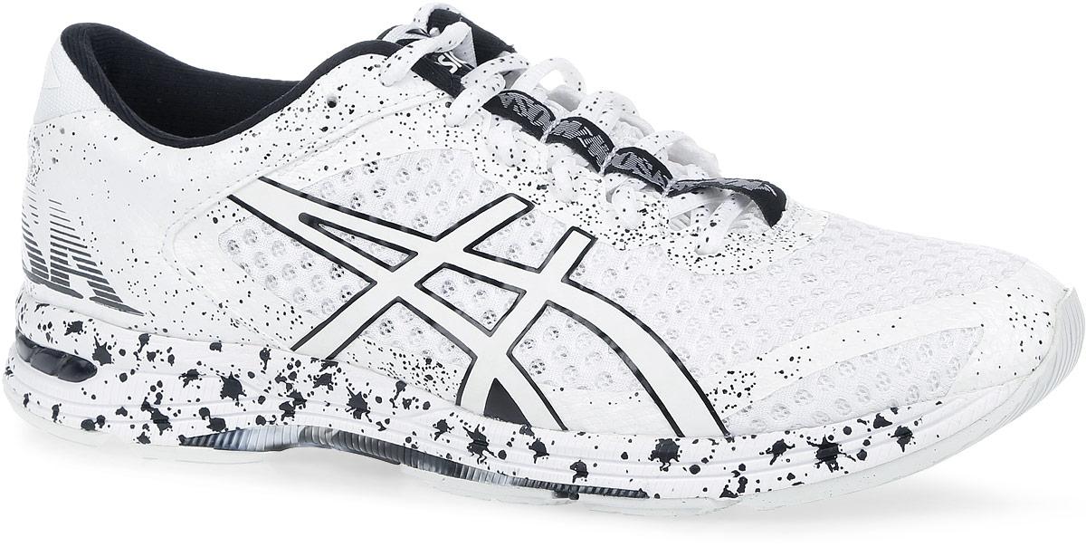 T676Q-0101Очередное поколение триатлоновских кроссовок Gel-Noosa TRI 11 от Asics по достоинству отметят любительницы бега. Модель, выполненная из воздухопроницаемого сетчатого текстиля и искусственной кожи, дополнена бесшовными накладками из ПВХ. Подъем оформлен классической шнуровкой, которая надежно фиксирует обувь на ноге и регулирует объем. Стелька, которая идеально подстраивается под анатомические контуры стопы, изготовлена из ЭВА материала с покрытием из текстиля. Подкладка из текстиля не натирает. Вставка в носочной области из термостойкого геля на силиконовой основе значительно уменьшает нагрузку на пятку, колени и позвоночник спортсмена, снижая возможность получения травмы. Средняя подошва оснащена системой DuoMax - двойной плотности для поддержки стопы и стабильности. Пластиковый элемент Trusstic под средней частью подошвы препятствует скручиванию стопы. Износостойкая подошва разделена полноразмерной направляющей линией, что воспроизводит идеальную...