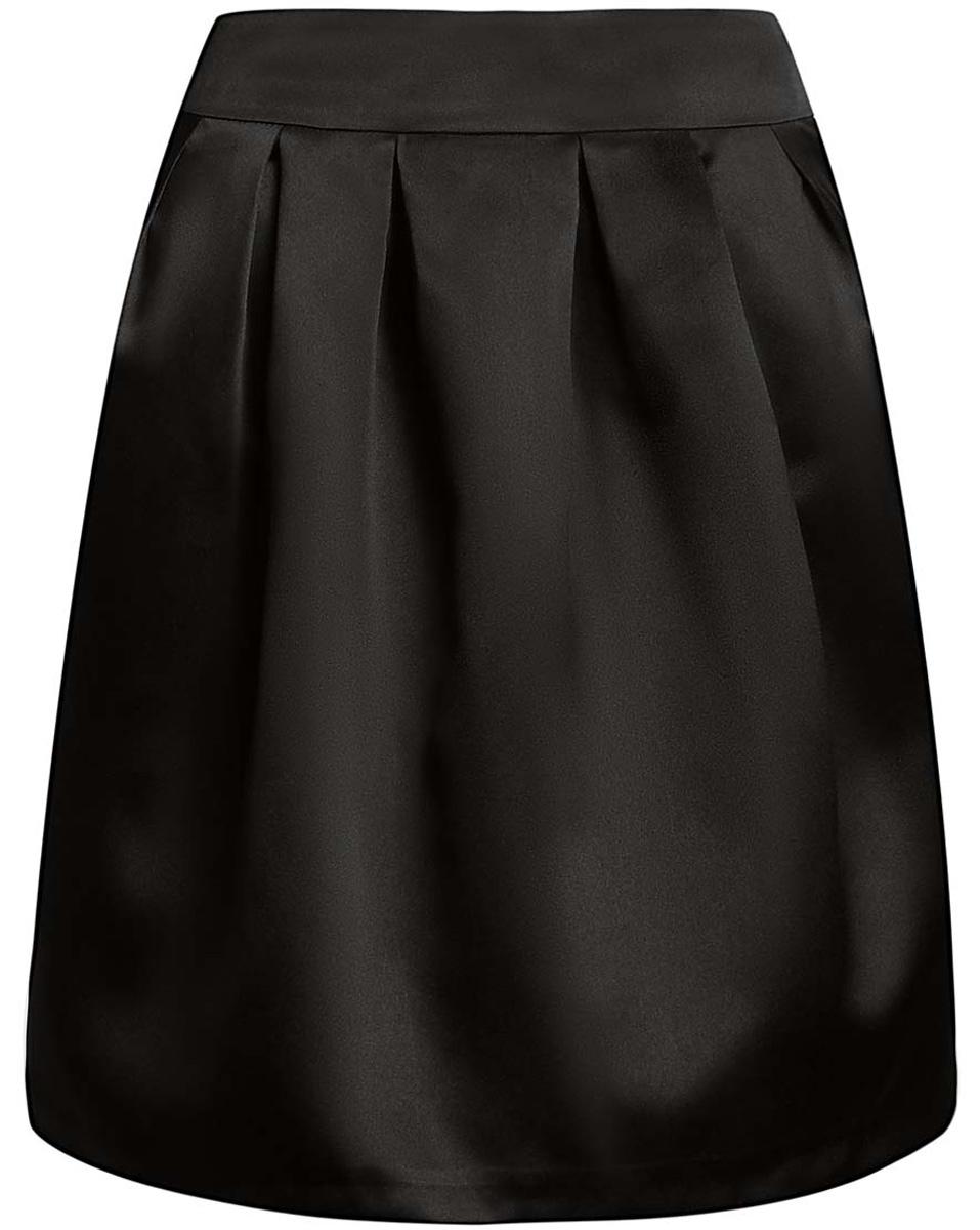 11600388-4/24393/2900NСтильная юбка oodji Ultra выполнена из высококачественного полиэстера. Модель-миди декорирована складками, дополнена потайной застежкой-молнией сзади и прорезными карманами по боковым сторонам. Оформлена юбка в лаконичном дизайне.