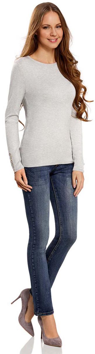 Джинсы22103048/33636/7500WСтильные женские джинсы oodji Denim выполнены из хлопка с добавлением полиуретана. Материал мягкий и приятный на ощупь, не сковывает движения и позволяет коже дышать. Джинсы прямого кроя и средней посадки застегиваются на пуговицу в поясе и ширинку на застежке-молнии. На поясе предусмотрены шлевки для ремня. Спереди модель дополнена двумя втачными карманами и одним маленьким прорезным кармашком, а сзади - двумя накладными карманами. Модель оформлена эффектом потертости, перманентными складками и контрастной прострочкой.