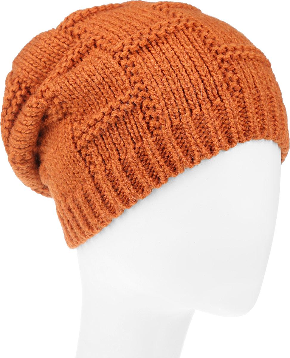 Шапка4-078Женская шапка Leighton Trend изготовлена из шерсти с добавлением акрила. Модель оформлена объемной вязкой и по низу дополнена вязаной резинкой. Уважаемые клиенты! Размер, доступный для заказа, является обхватом головы.