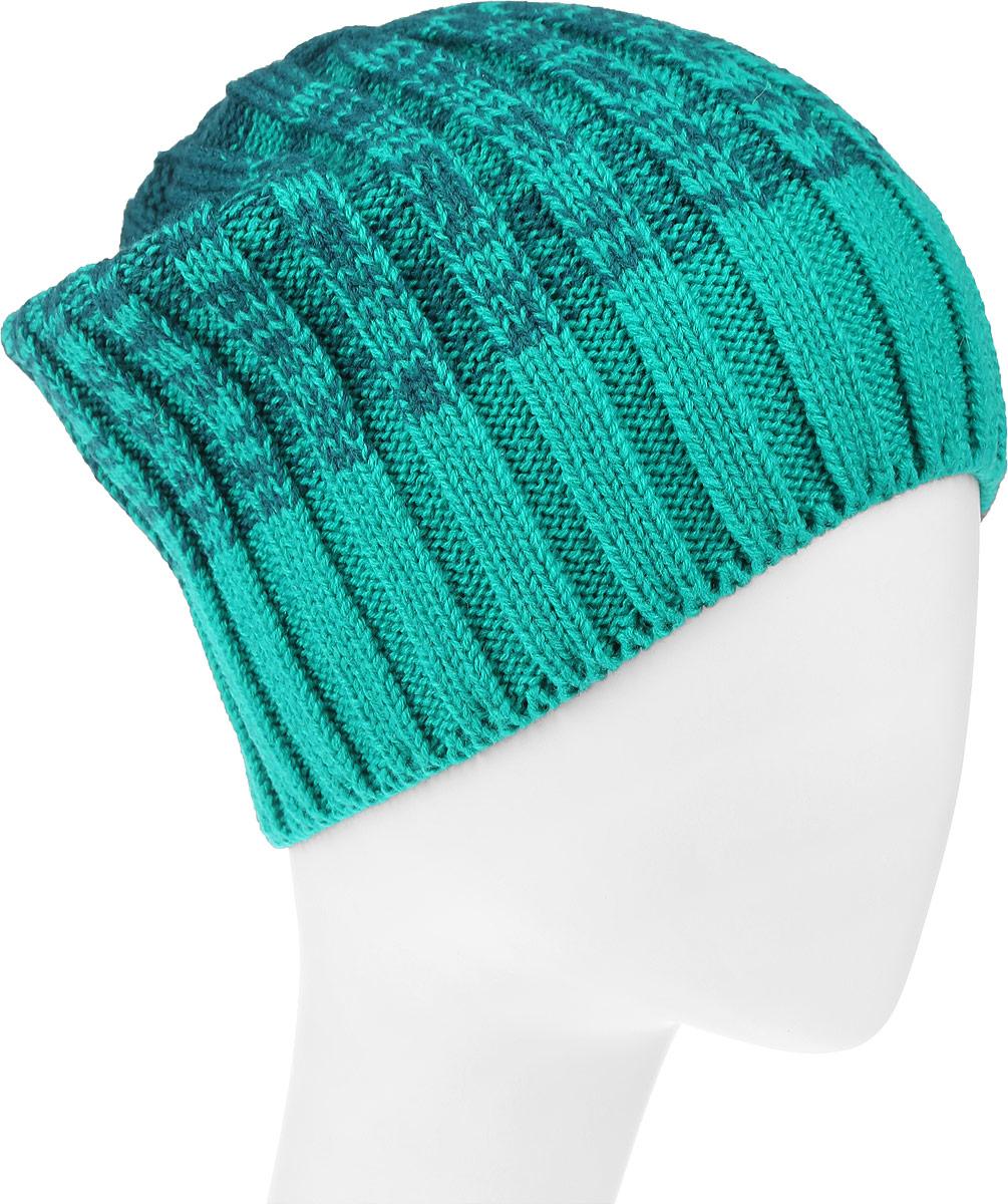 4-076Женская шапка Leighton Trend изготовлена из шерсти с добавлением акрила. Модель оформлена вертикальной вязкой и градиентным переходом. Уважаемые клиенты! Размер, доступный для заказа, является обхватом головы.