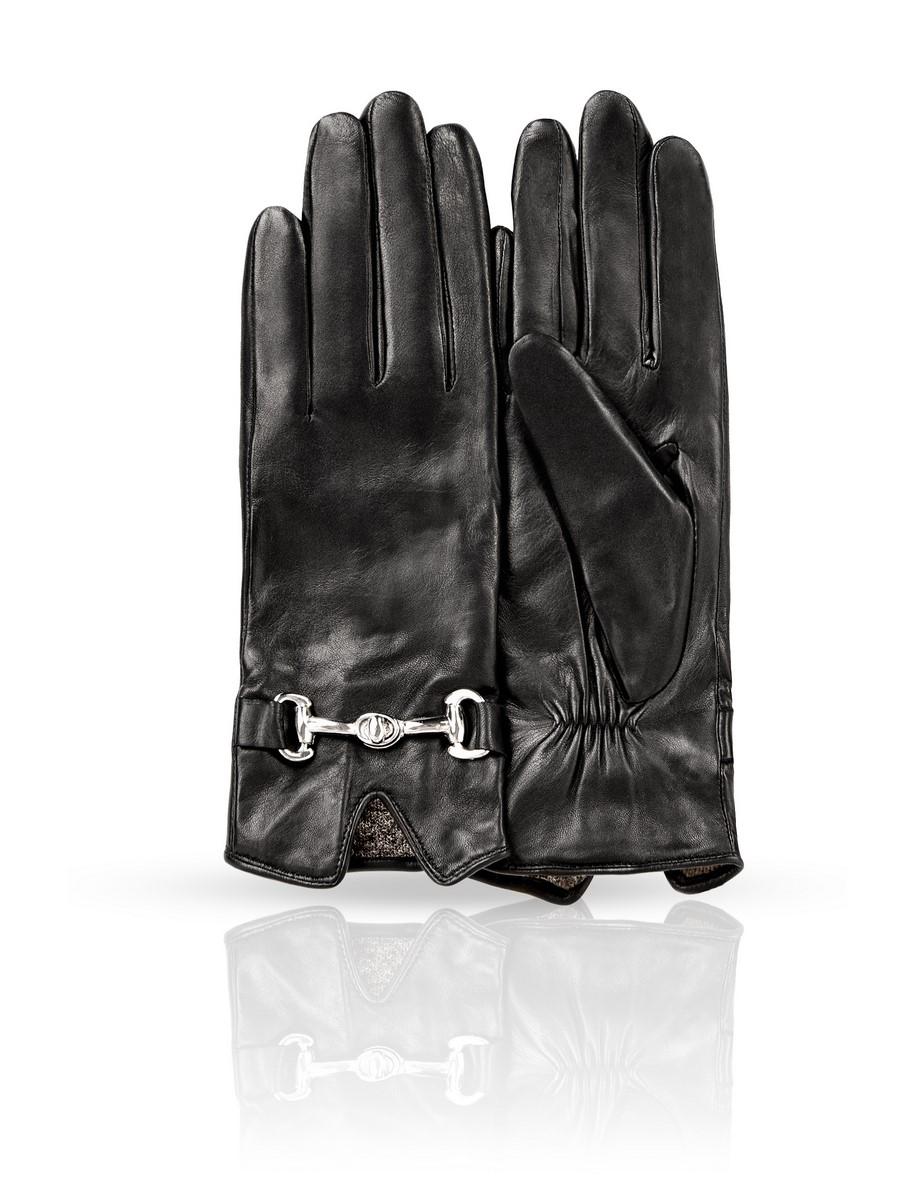 11_CHEA/BLЖенские перчатки Dali Exclusive не только защитят ваши руки, но и станут великолепным украшением. Перчатки выполнены из натуральной кожи, а их подкладка - из высококачественной шерсти. Модель оформлена декоративным элементом.
