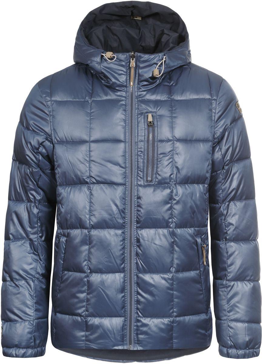 Куртка656057507IV_371Мужская двусторонняя куртка Icepeak Trevor выполнена из полиэстера, утеплена наполнителем FinnWad. Одна сторона куртки имеет гладкую поверхность и оформлена стеганым узором, другая - матовая и имеет слегка шероховатую текстуру. Куртка с несъемным капюшоном застегивается на удобную застежку-молнию спереди. Капюшон дополнен шнурком-кулиской со стопперами. Рукава оснащены эластичными манжетами. Куртка имеет два втачных кармана на застежках-молниях с одной стороны и три втачных кармана на застежках-молниях с другой. Обхват низа модели регулируется при помощи внутреннего шнурка-кулиски со стопперами.