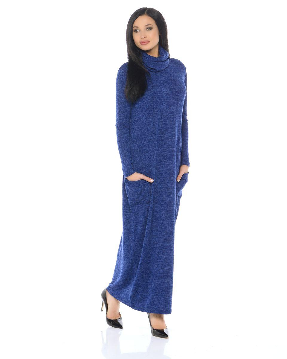 Платье14663-1Комфортное и мягкое платье La Via Estelar с накладными карманами и воротником-хомутом станет незаменимой вещью в повседневном гардеробе модницы. Выбранный товар отлично подойдет для любого мероприятия.