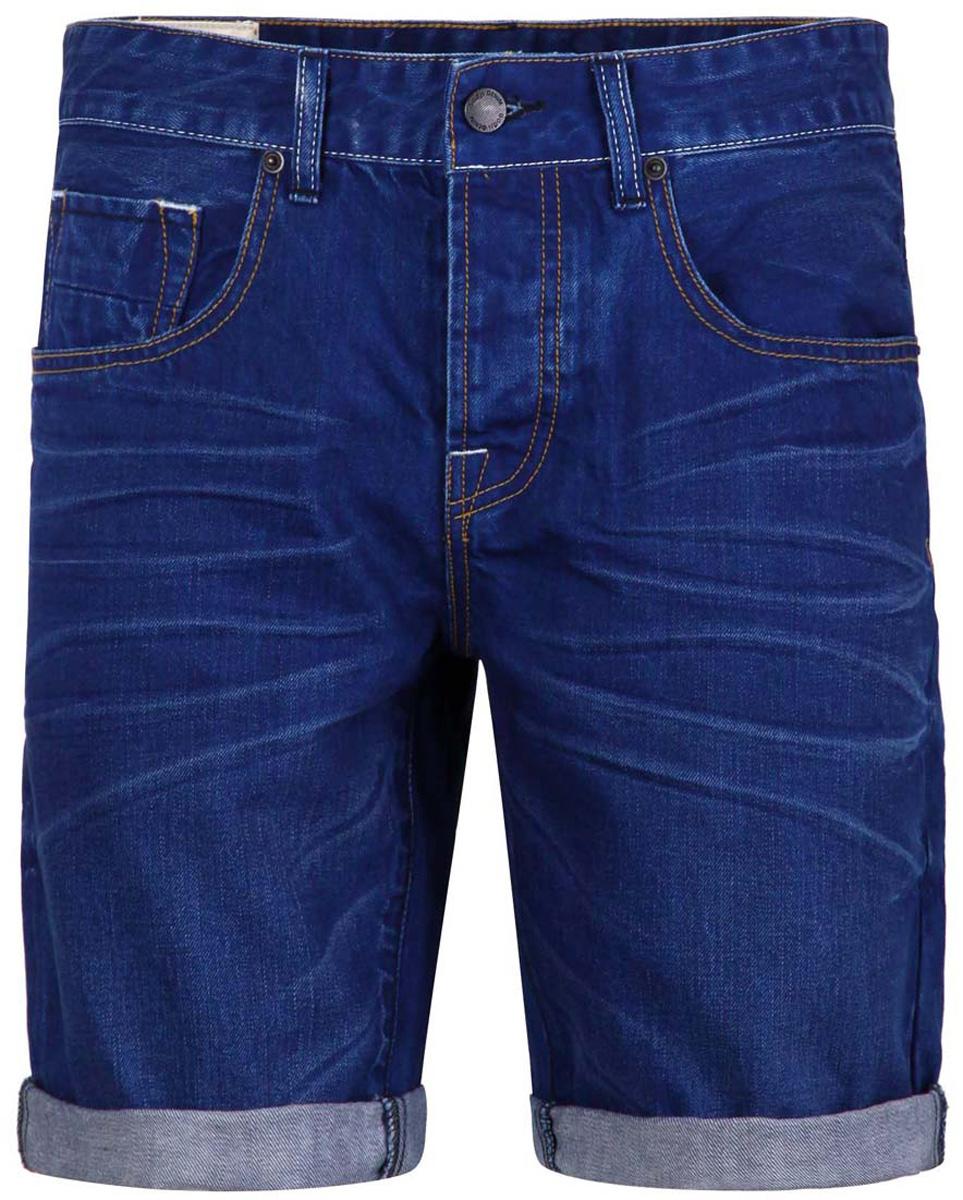 6L210008M/34544N/7500WСтильные и практичные мужские джинсовые шорты oodji выполнены из натурального хлопка. Шорты застегиваются на металлические пуговицы. На поясе расположены шлевки для ремня. Шорты имеют классический пятикарманный крой, они оснащены двумя втачными карманами, небольшим накладным кармашком спереди и двумя втачными карманами сзади.
