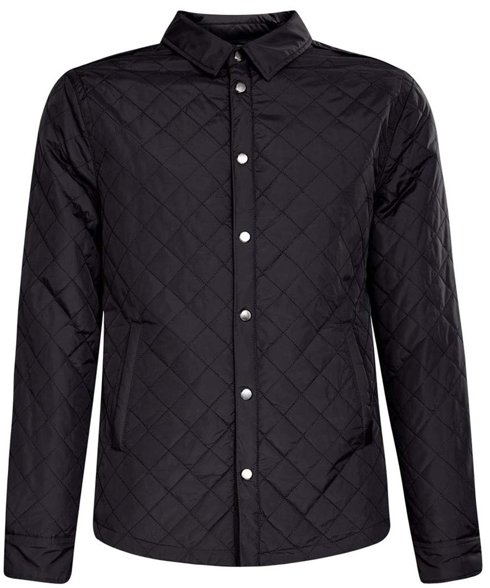 Куртка1L111016M/44335N/7900NМужская куртка oodji изготовлена из полиамида. Модель имеет тонкий слой утеплителя и застёгивается кнопки. Спереди на куртке расположено два врезных кармана. Низ рукавов фиксируется кнопками.