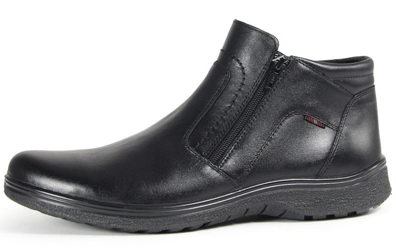 45048Стильные мужские ботинки Comfort от Marko выполнены из натуральной кожи. Подкладка и стелька из текстиля комфортны при движении. Боковые застежки-молнии позволяют легко снимать и надевать модель. Подошва дополнена рифлением.