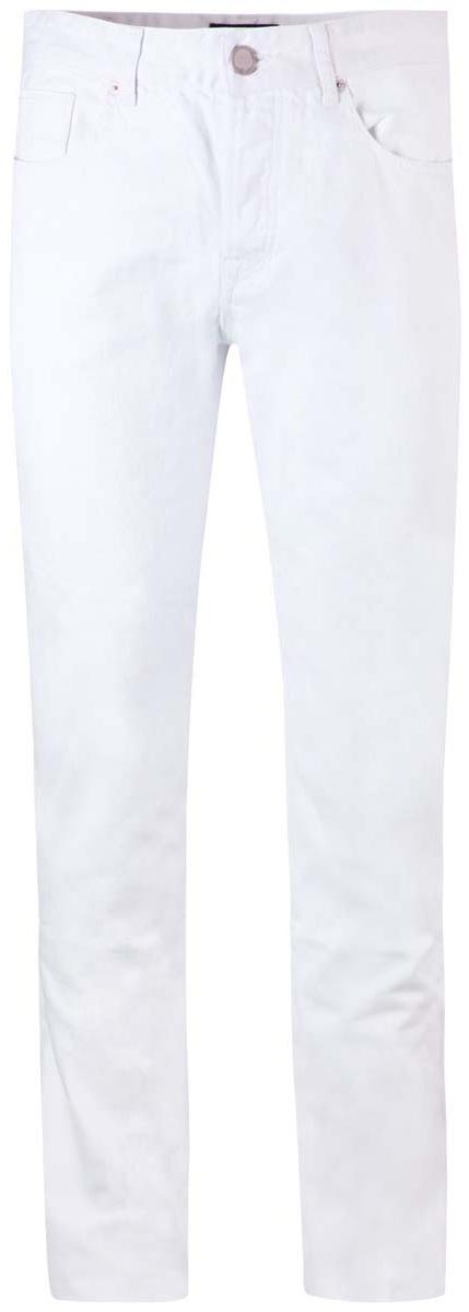 Брюки2L120021M/24960N/1000WСтильные мужские брюки oodji Lab выполнены из натурального хлопка. Модель прямого кроя и стандартной посадки застегивается на пуговицы. Пояс имеет шлевки для ремня. Спереди изделие дополнено двумя втачными карманами и одним маленьким накладным кармашком, сзади - двумя накладными карманами.