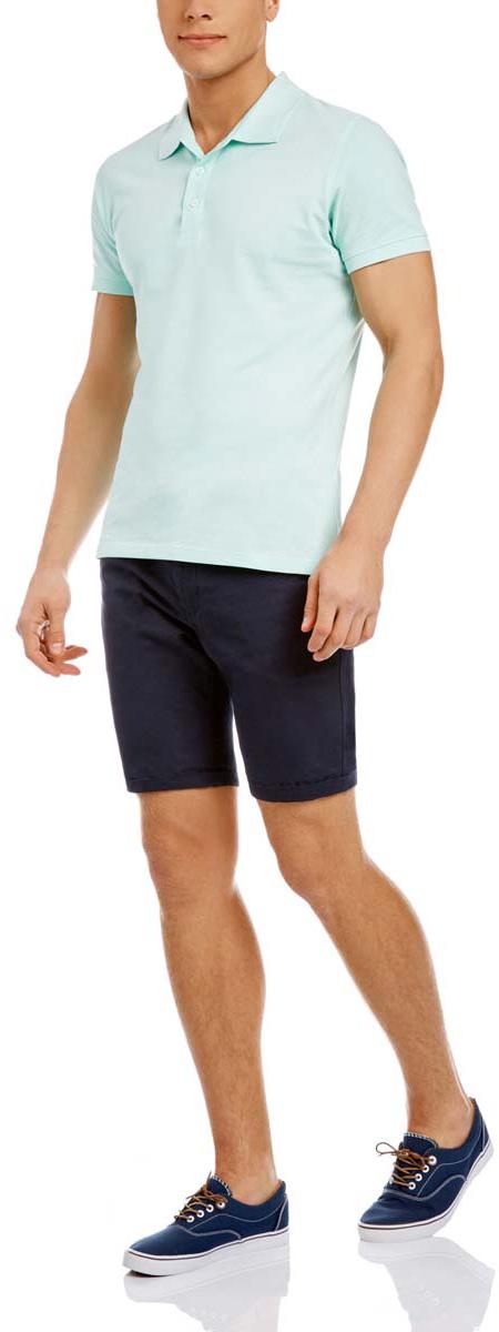 Шорты2B710005M/44213N/3300NСтильные мужские шорты oodji Basic выполнены полностью из хлопка. Модель стандартной посадки застегивается на пуговицу в поясе и ширинку на застежке-молнии. Пояс имеет шлевки для ремня. Спереди шорты дополнены двумя втачными карманами и одним маленьким прорезным кармашком, сзади - двумя прорезными карманами с пуговицами. В комплект входит кожаный ремень с металлической пряжкой.