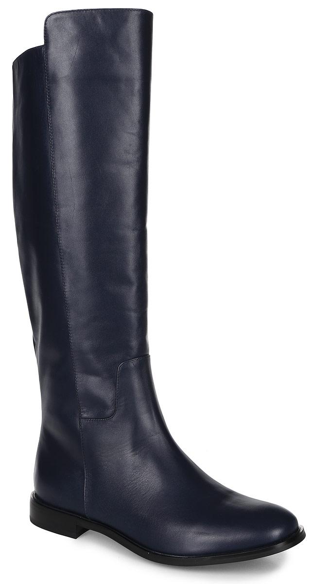 91-179-23-5Женские сапоги от Paolo Conte выполнены из натуральной кожи. У модели ассиметричный верх голенища. Подкладка и стелька изготовлены из байки. Подошва из тунита оснащена мелким рифлением.