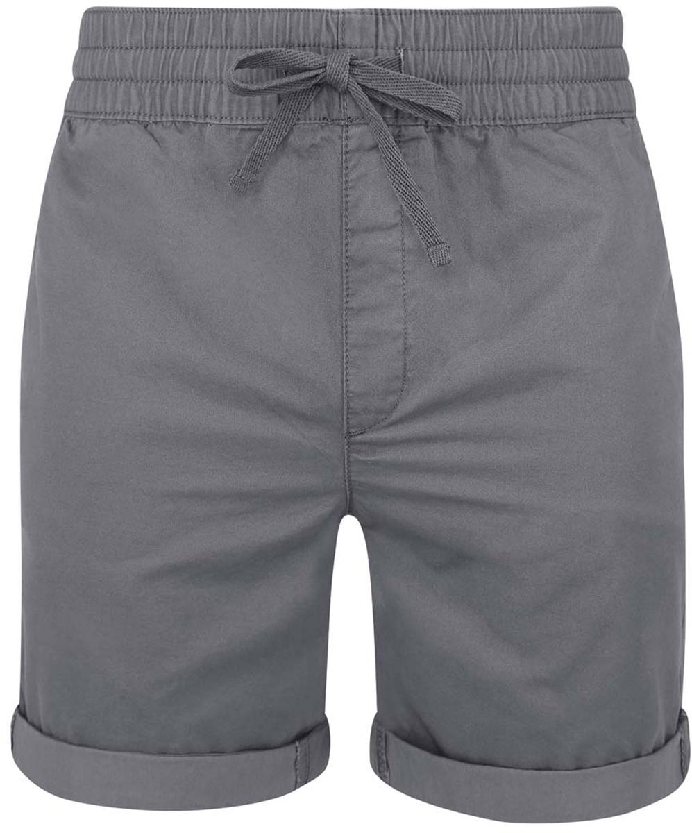 Шорты2L710020M/44213N/2300NСтильные мужские шорты oodji Lab выполнены полностью из хлопка. Модель дополнена широкой эластичной резинкой на талии. Объем пояса регулируется при помощи шнурка-кулиски. Спереди шорты дополнены двумя карманами, сзади - двумя прорезными карманами с пуговицами.