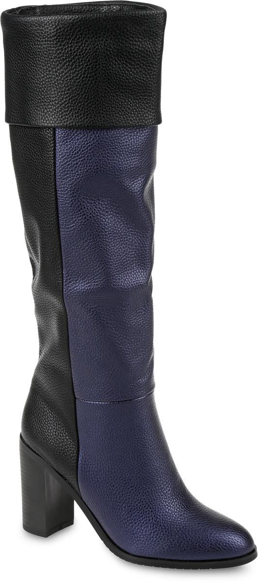 SP-BA0201-1Сапоги выполнены из искусственной кожи. Подкладка и стелька, изготовленные из мягкой байки, защитят ноги от холода и обеспечат комфорт. Подошва выполнена из термопластичного материала. Модель оснащена устойчивым каблуком.
