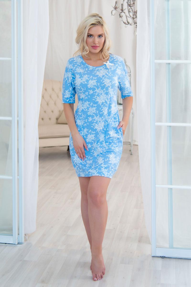 Платье домашнееAW16-MCUZ-811Российский бренд Mia Cara с итальянским темпераментом воплотил в своей продукции традиционное европейское качество, ультрамодный дизайн и исключительный комфорт. Эксклюзивные авторские принты и набивные рисунки, разработанные дизайнерами из Милана для торговой марки, вызывают восхищение и восторг у самых требовательных женщин, ценящих красоту и удобство! Все полотна, использующиеся для производства одежды, изготовлены из высококачественного хлопка, изделия очень мягкие на ощупь и тактильно приятные. В ткань нежно вплетены специальные волокна эластана, которые позволяют создать прилегающий силуэт и обеспечить комфорт. Вся продукция обладает благородными и стойкими цветами, устойчивыми к воздействиям в процессе использования и стирки. Изделия бесконечно долго имеют безупречный внешний вид, не линяют и не растягиваются. Одежда Mia Cara позволит вам всегда выглядеть эффектно и элегантно дома, ежедневно радовать себя и ваших близких.