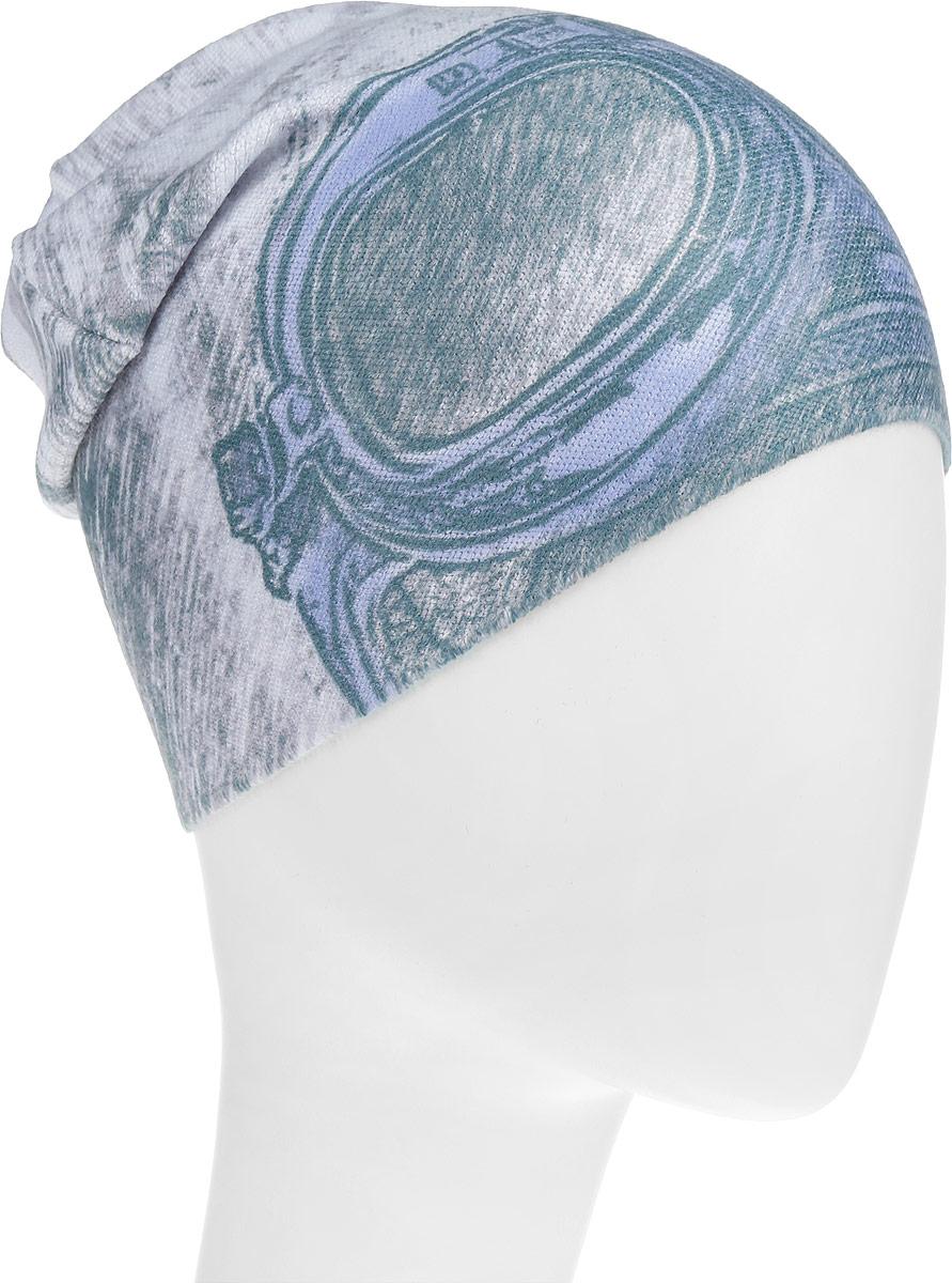 Шапка детскаяM4741-22Шапка для мальчика Fishka выполнена из акрила с добавлением хлопка и лайкры, она очень мягкая и приятная на ощупь. Изделие идеально прилегает к голове и максимально сохраняет тепло. Шапка оформлена оригинальным принтом. Уважаемые клиенты! Размер, доступный для заказа, является обхватом головы.