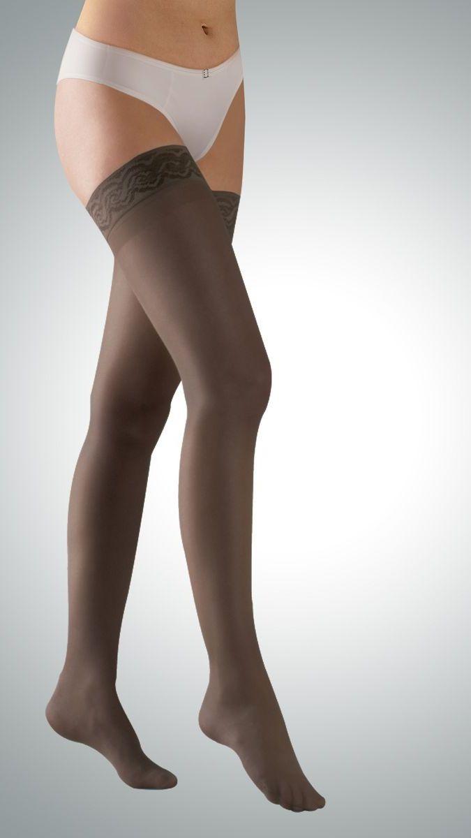 Чулки212-7006Компрессионные чулки Avicenum 70 улучшают кровообращение, являются эффективным средством профилактики варикозного расширения вен, предотвращают возникновение отечности и снижают ощущение боли и усталости в ногах. Класс компрессии: профилактический
