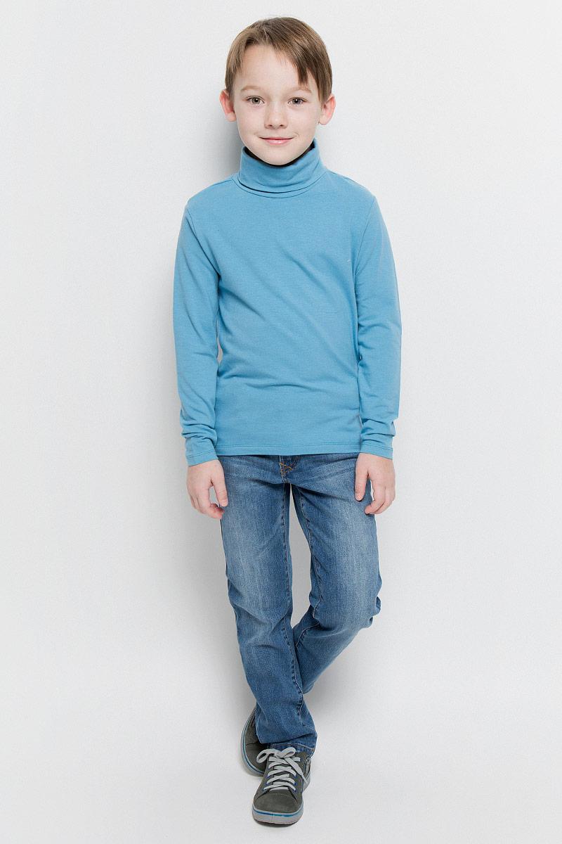 ВодолазкаTt-811/1023-6332Водолазка для мальчика Sela выполнена из эластичного хлопка. Модель имеет воротник-гольф и длинные рукава.