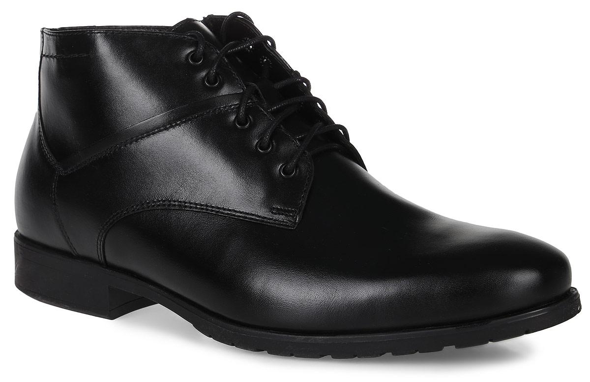22630Стильные мужские ботинки Classic от Marko выполнены из натуральной кожи. Подкладка и стелька из шерстяного меха не дадут ногам замерзнуть. Шнуровка надежно зафиксирует модель на ноге. Боковая застежка-молния позволяет легко снимать и надевать модель. Подошва и каблук дополнены рифлением.