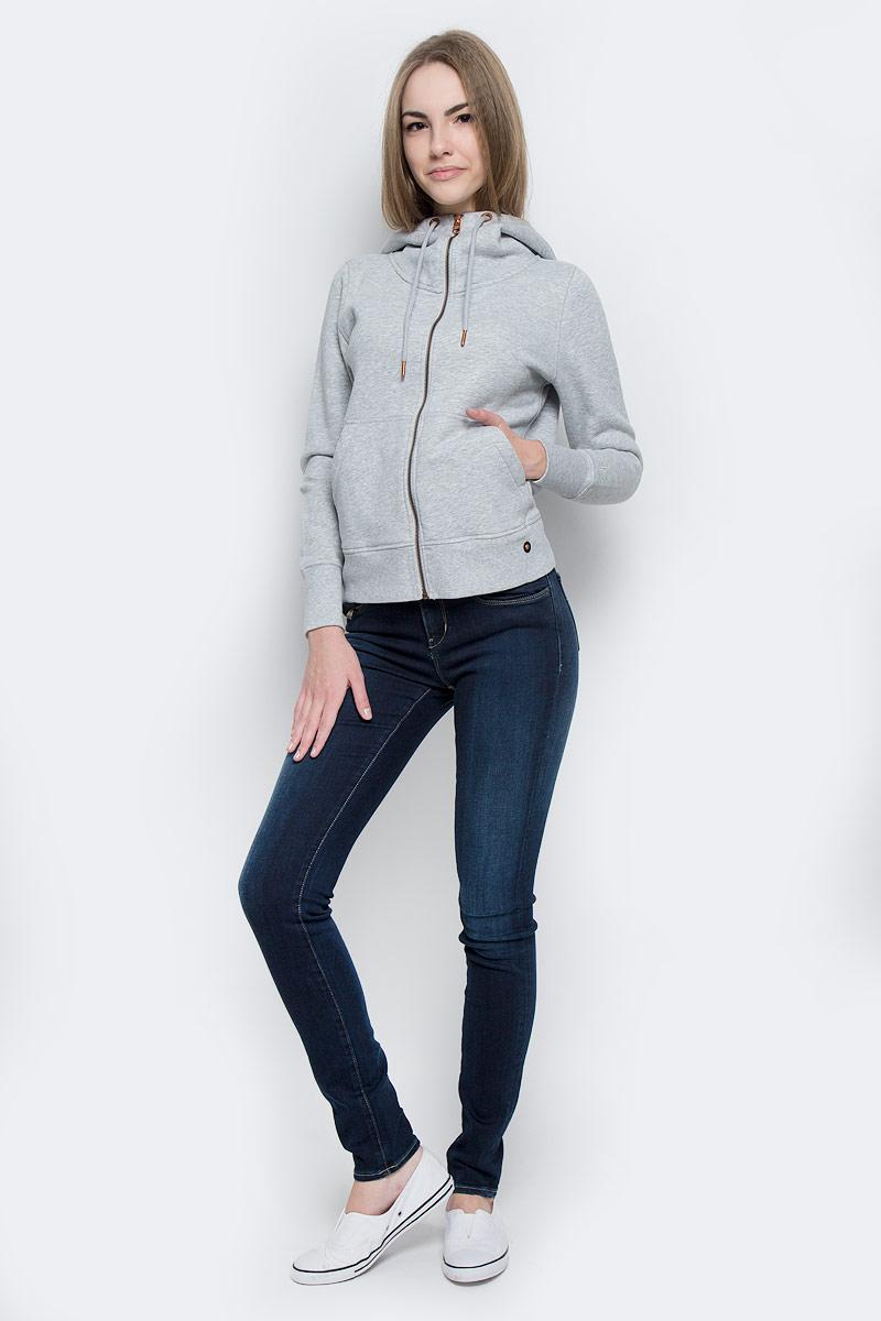 J20J201275_9114Стильные женские джинсы Calvin Klein Jeans выполнены из хлопка с добавлением эластомультиэстера и эластана. Материал мягкий и приятный на ощупь, не сковывает движения и позволяет коже дышать. Джинсы-скинни средней посадки застегиваются на пуговицу в поясе и ширинку на застежке-молнии. На поясе предусмотрены шлевки для ремня. Спереди модель оформлена двумя втачными карманами и одним маленьким накладным кармашком, сзади - двумя накладными карманами. Модель оформлена эффектом потертости и контрастной прострочкой.