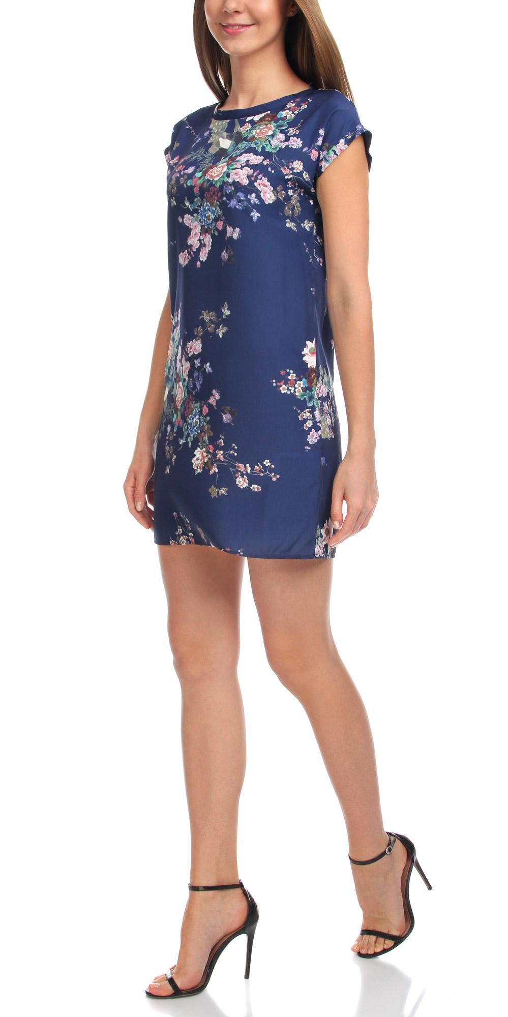 Платье21911019/35173/7919FМодное платье oodji Collection станет отличным дополнением к вашему гардеробу. Модель выполнена из качественного полиэстера. Платье-мини с круглым вырезом горловины и короткими цельнокроеными рукавами не имеет застежки. Оформлена модель принтом в восточном стиле.