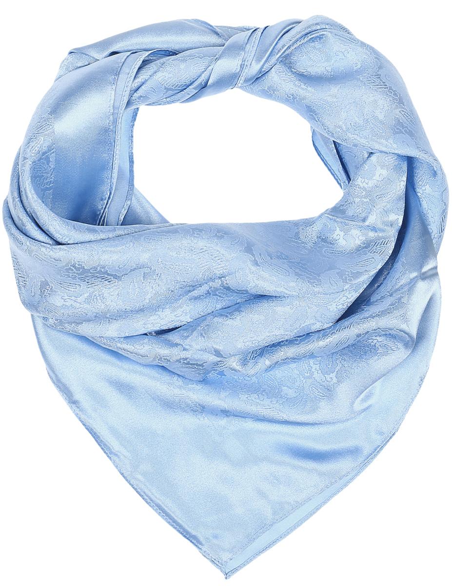 ПлатокRoFC811/6-4Стильный женский платок Vittorio Richi изготовлен из высококачественного полиэстера с добавлением шелка. Платок оформлен оригинальным переливающимся узором с орнаментом пейсли. Край отделан швом американка.