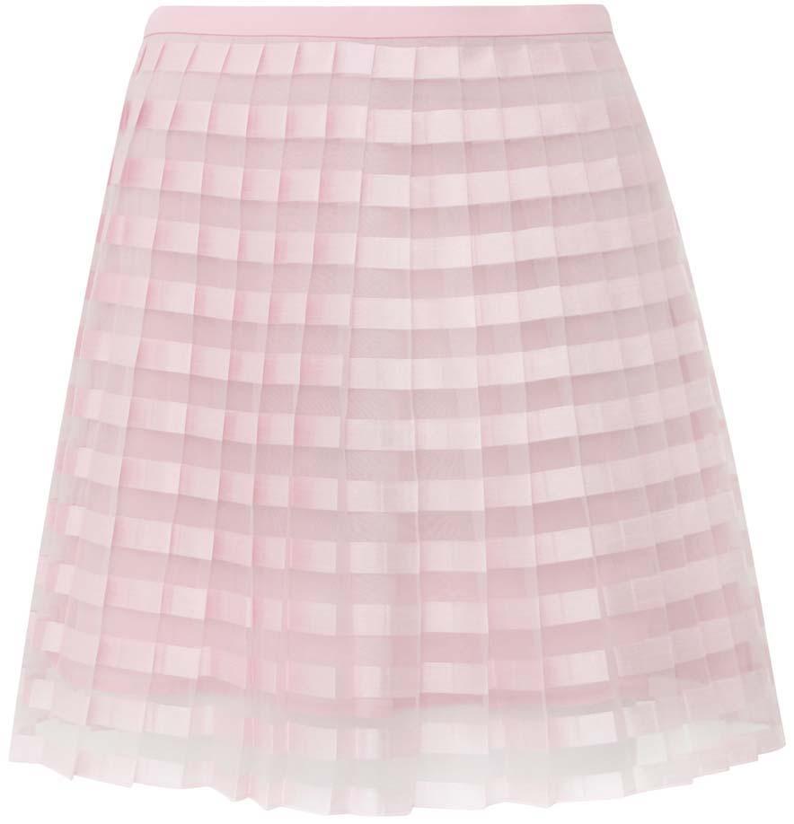 Юбка11606044/42812/4000NЛегкая юбка в складочку выполнена из высококачественного материала. Верхний слой юбки изготовлен из полупрозрачной ткани.