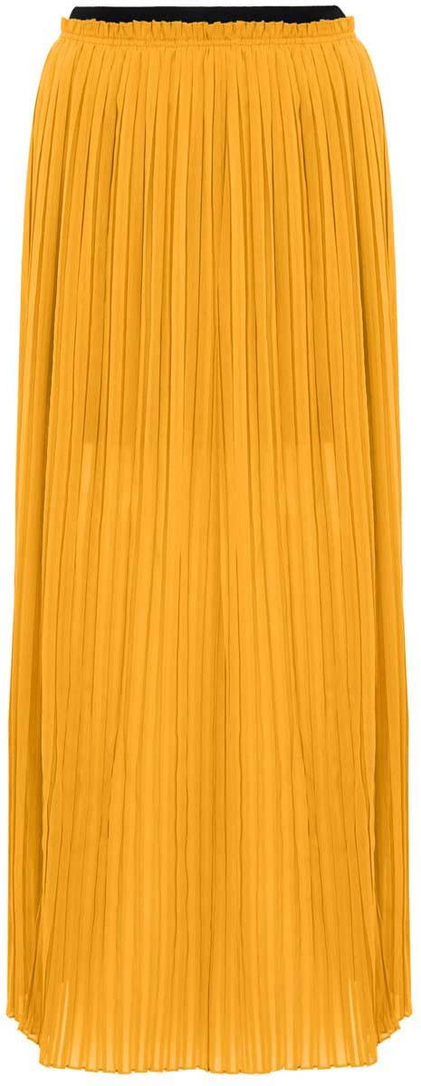 11606043/15036/5200NПлиссированная юбка oodji Ultra полностью выполнена из хлопка. Модель- макси с подкладкой мини длины и разрезами по бокам от пояса. Пояс изделия оформлен эластичной резинкой.