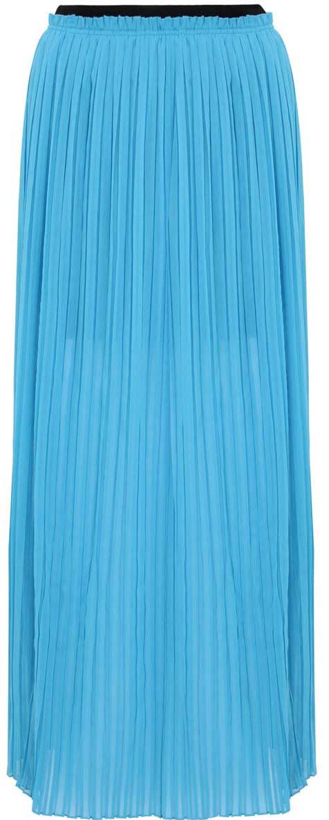 Юбка11606043/15036/5200NПлиссированная юбка oodji Ultra полностью выполнена из хлопка. Модель- макси с подкладкой мини длины и разрезами по бокам от пояса. Пояс изделия оформлен эластичной резинкой.