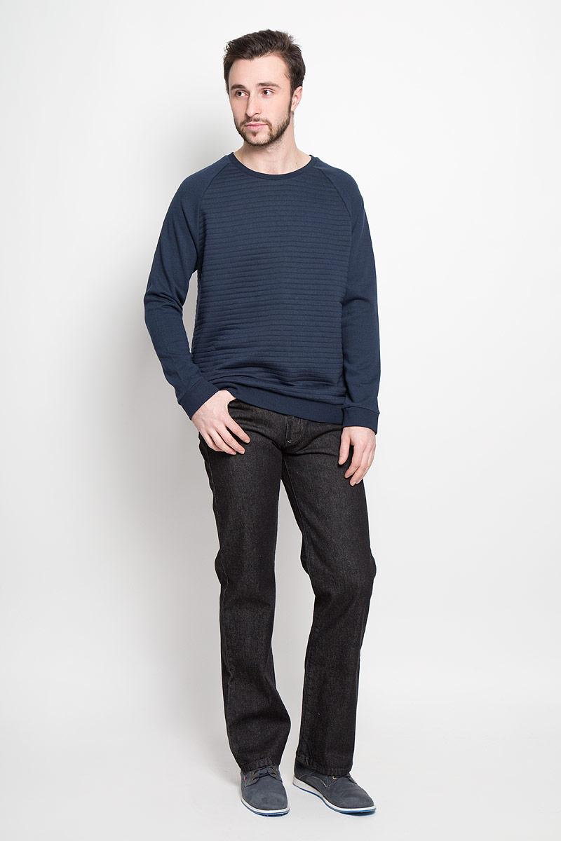 Джинсы10061_BlackМужские джинсы Montana выполнены из натурального хлопка. Модель прямого кроя по поясу застегивается на пуговицу и имеет ширинку на застежке-молнии. Пояс дополнен шлевками для ремня. Спереди расположено два втачных кармана и маленький накладной, а сзади - два накладных кармана. Джинсы оформлены фирменной нашивкой.