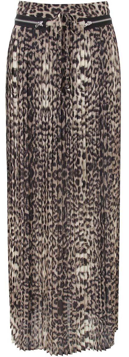 Юбка21606017/42929/3329AДлинная юбка-плиссе, декорированная металлическими молниями. выполнена из высококачественного материала. Сзади модель застегивается на потайную застежку-молнию.