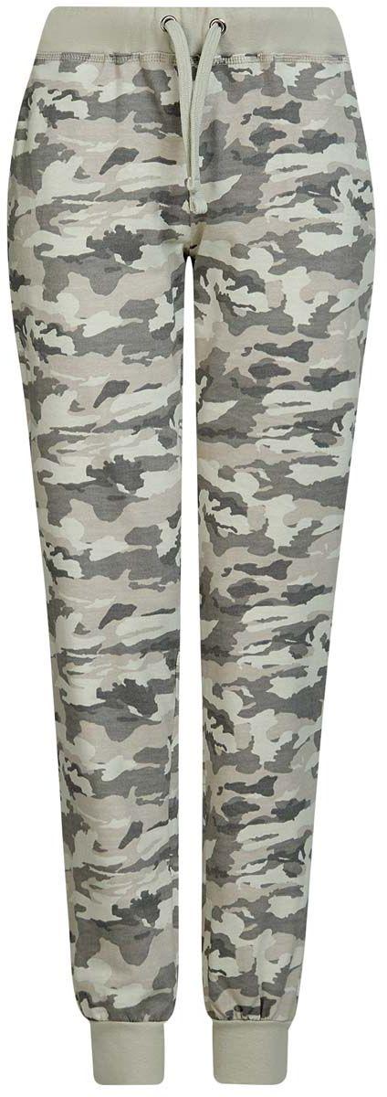 16701042B/46919/2025OЖенские спортивные брюки oodji Ultra, выполнены из натурального хлопка. Модель дополнена широкими эластичными резинками на поясе и по низу брючин. Объем талии регулируется с внешней стороны при помощи шнурка-кулиски. Спереди имеются два втачных кармана.