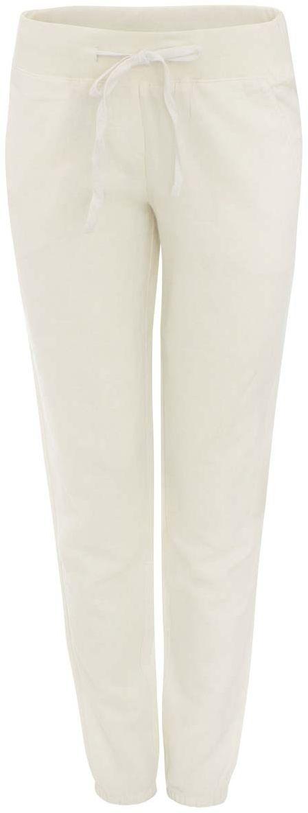 11711006-1/42166/1200NСтильные женские брюки oodji Ultra выполнены из рами и хлопка. Брюки стандартной посадки имеют эластичный пояс, дополненный шнурком. Спереди модель дополнена двумя втачными карманами, сзади - двумя прорезными карманами на пуговицах. Них брючин присборен на резинки.