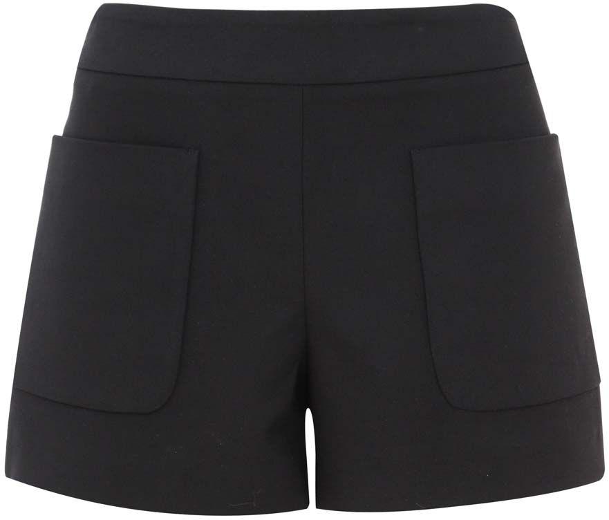 Шорты11800035/33574/2900NСтильные женские шорты oodji Ultra изготовлены из хлопка с добавлением полиэстера и эластана. Шорты застегиваются сзади на застежку-молнию. Спереди расположены два вместительных накладных кармана. Модель выполнена в строгом лаконичном стиле.