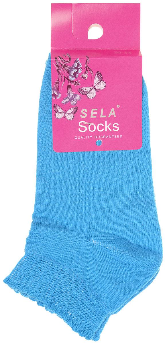 SOb-4/021-6302Детские носки Sela изготовлены из высококачественного трикотажа. Носки очень приятные на ощупь. Эластичная резинка мягко облегает ножку ребенка, обеспечивая удобство и комфорт. Края носочков оформлены окантовкой с волнистым краем. Красивые носочки станут отличным дополнением к гардеробу маленькой принцессы! Уважаемые клиенты! Размер, доступный для заказа, является длиной стопы.