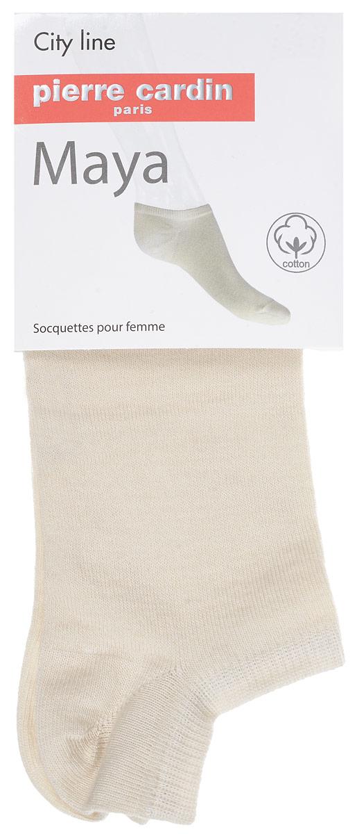 НоскиCr MayaУдобные укороченные носки Pierre Cardin Maya, изготовленные из высококачественного комбинированного материала, идеально подойдут для п. Благодаря содержанию мягкого хлопка в составе, кожа сможет дышать, а спандекс позволяет носочкам легко тянуться, что делает их комфортными в носке. Эластичная резинка плотно облегает ногу, не сдавливая ее, обеспечивая комфорт и удобство. Практичные и комфортные носки с укрепленным мыском и пяткой великолепно подойдут к вашей повседневной обуви.