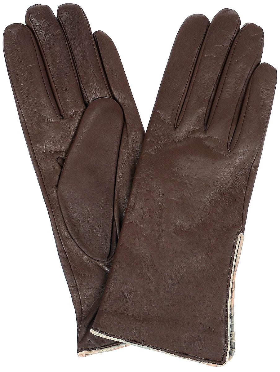 ПерчаткиR11_LUARA/ASF.BСтильные женские перчатки Dali Exclusive не только защитят ваши руки, но и станут великолепным украшением. Перчатки выполнены из натуральной кожи, а их подкладка - из высококачественной шерсти. Модель оформлена на запястье эластичной строчкой-стежками.