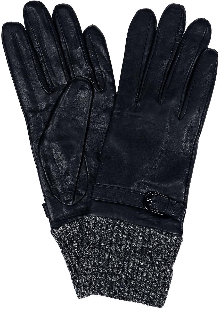 IS952Стильные перчатки Eleganzza выполнены из натуральной гладкой кожи и оформлены декоративным ремешком с пряжкой. Модель дополнена вязаной манжетой. Внутренняя поверхность полностью выполнена из натуральной шерсти, которая обеспечит тепло и комфорт.
