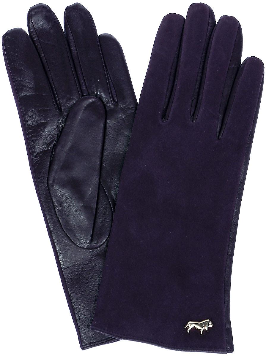 LB-4707Женские перчатки Labbra выполнены из натуральной кожи разной текстуры и оформлены металлической пластинкой с логотипом бренда. Внутренняя поверхность выполнена из шерсти и акрила, которые обеспечат тепло и комфорт.