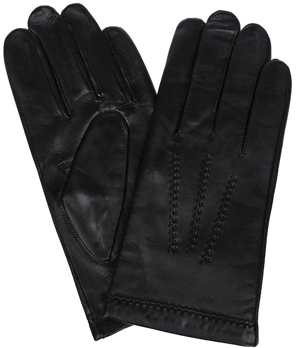 ПерчаткиLB-0703Мужские перчатки Labbra выполнены из натуральной кожи и оформлены декоративной прострочкой. Внутренняя поверхность выполнена из шерсти и акрила, которые обеспечат тепло и комфорт.