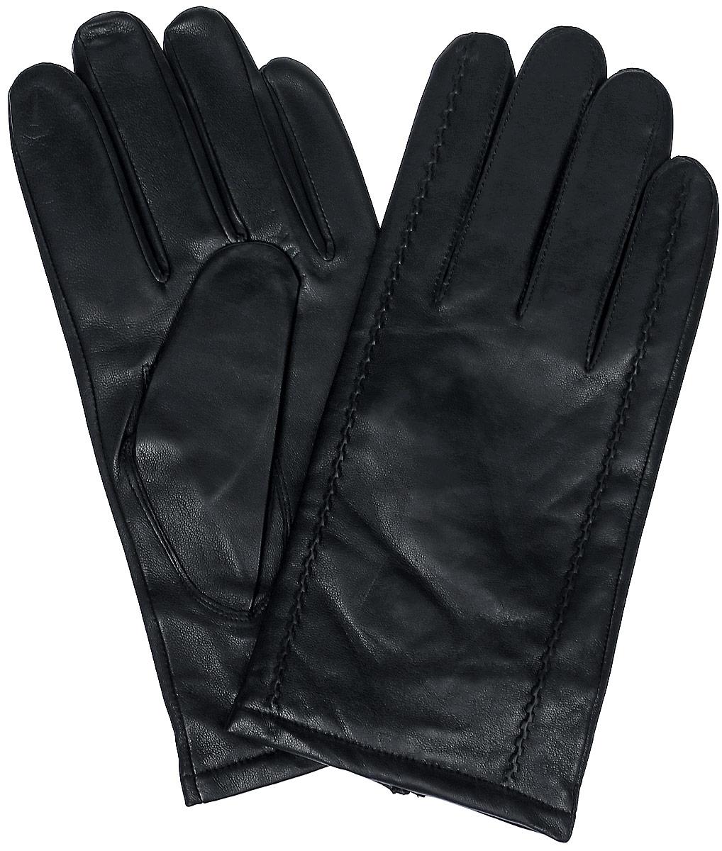ПерчаткиLB-0628Мужские перчатки Labbra выполнены из натуральной мягкой кожи и оформлены декоративными нашивками. Внутренняя поверхность выполнена из шерсти и акрила, которые обеспечат тепло и комфорт.