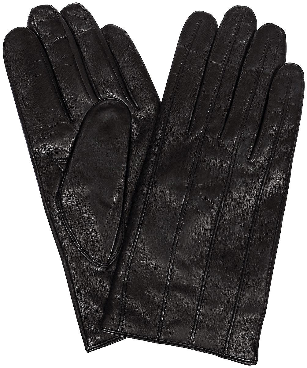 ПерчаткиLB-0181Мужские перчатки Labbra выполнены из натуральной кожи и оформлены декоративной прострочкой. Внутренняя поверхность выполнена из шерсти и акрила, которые обеспечат тепло и комфорт.